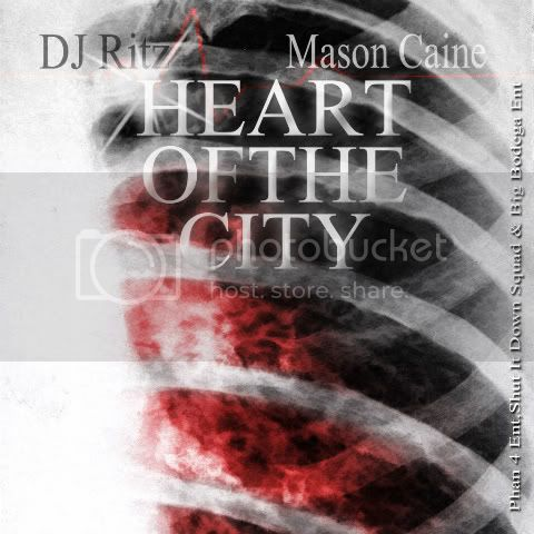 DJ Ritz &amp; Mason Caine - Heart Of The City (Mixtape) front cover